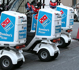 reating Domino's Pizza corporate website - delivery