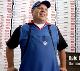 Creating Domino's Pizza corporate website - preparation